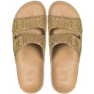 Cacatoes sandals trancoso gold femme