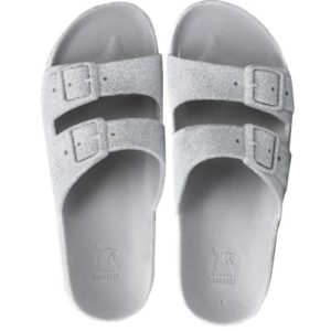 Cacatoes sandals trancoso silver femme