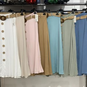 jupes longue ceinture