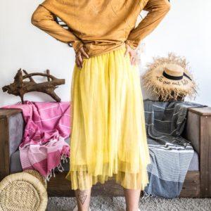 jupon banditas jaune
