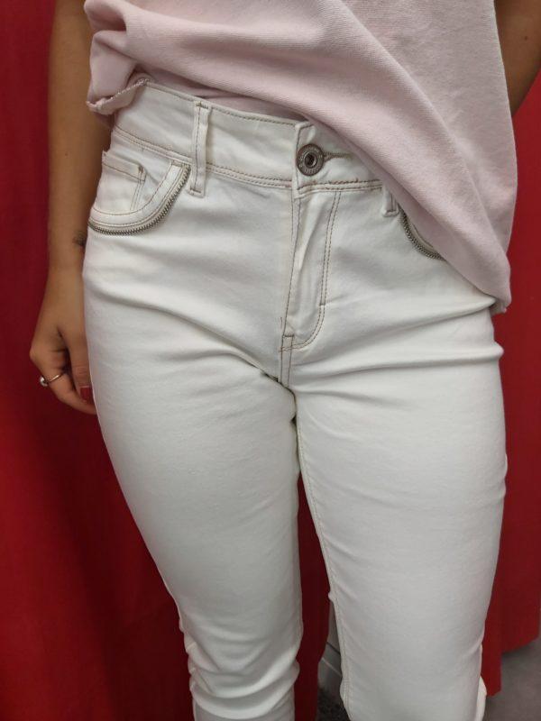 pantalon tiffosi beige