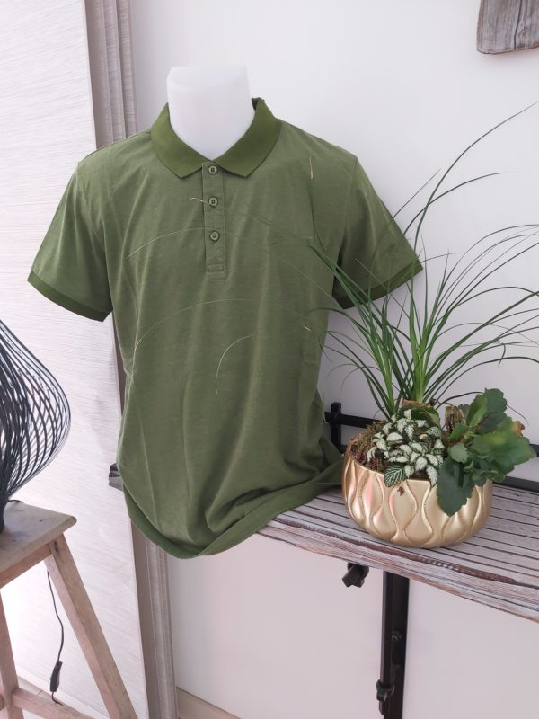 polo vert homme petrole industries