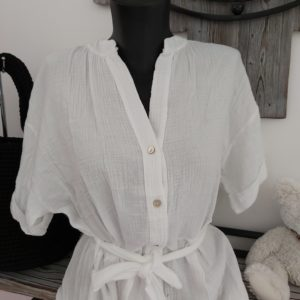 robe blanche millenium