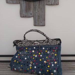 sac jean multicolor