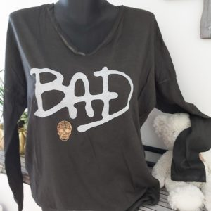 tee shirt banditas bad noir
