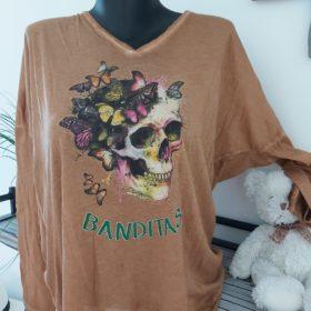 tee shirt banditas maron