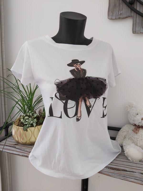 tee shirt tutu noir