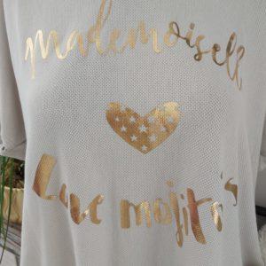 tee shirt mademoiselle morito