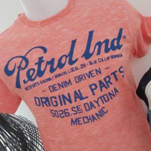 tee shirt orange petrole industries