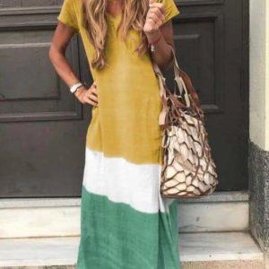 robe longue multico