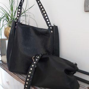 sac scolaire noir hanse