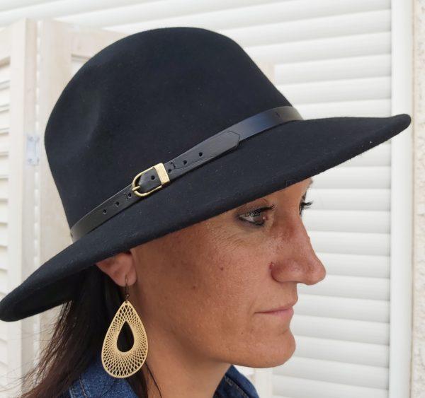 chapeau paris noir