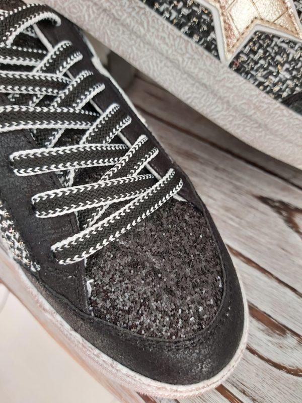 basket noir tissus chic