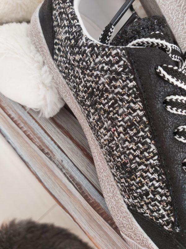 basket noir tissus chic mode
