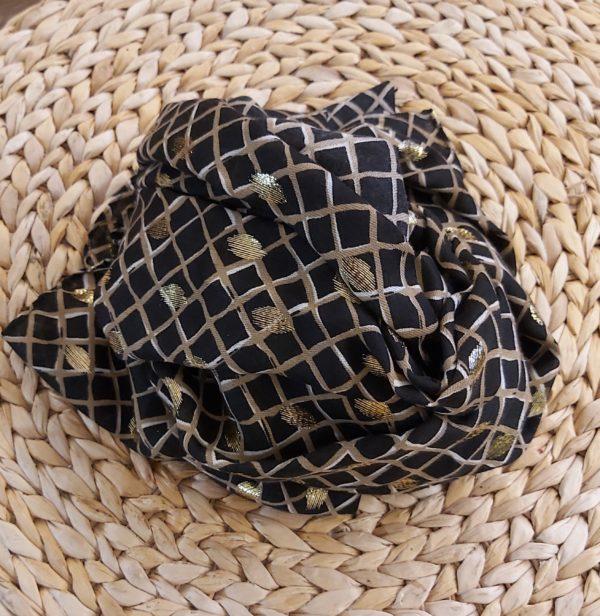 foulard noir