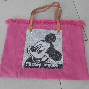 cabas mickey rose