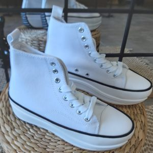 converse compensee blanche