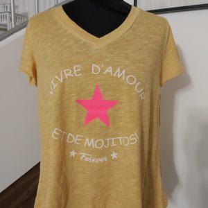 tee shirt mojito moutarde
