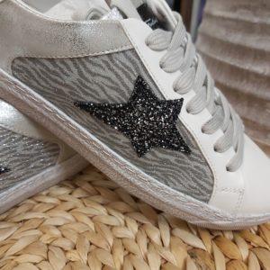 basket silver etoile