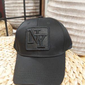 casquette noir reglable