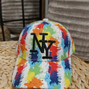 casquette peinture NY