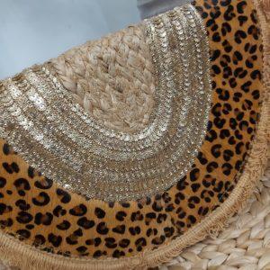 pochette leopard facade
