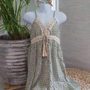 robe bretelle
